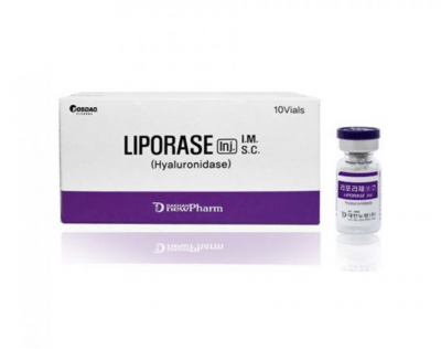 dissolves hyaluronic acid filler and corrects defects after the treatment.