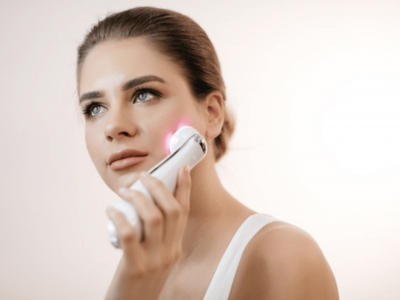 led therapy for facial lifting